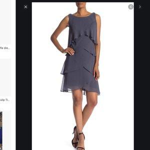SLNY 18 tiered dress